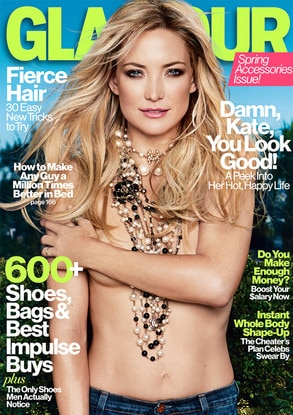 Kate Hudson, Glamour Magazine Cover