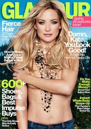 Kate Hudson, Glamour Magazine Cover