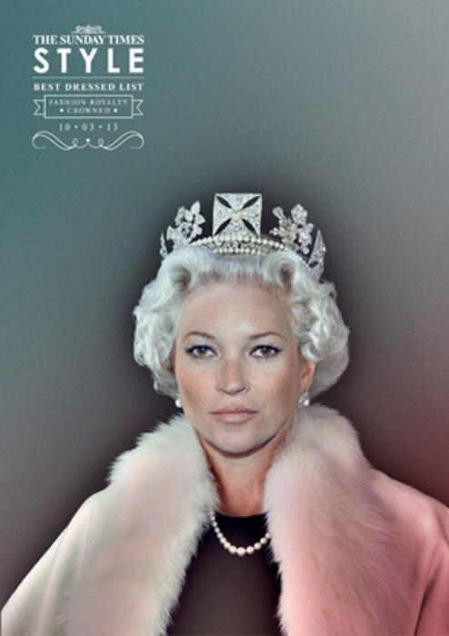 Kate Moss, The Sunday Times Style Magazine