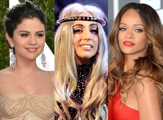 Young Hollywood Gives Back, Selena Gomez, Lady Gaga, Rihanna