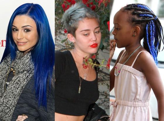 Miley Cyrus, Cher Lloyd, Zahara Jolie-Pitt