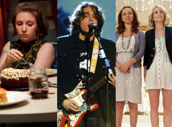 Lena Dunham, Girls, John Mayer, Bridesmaids, SXSW