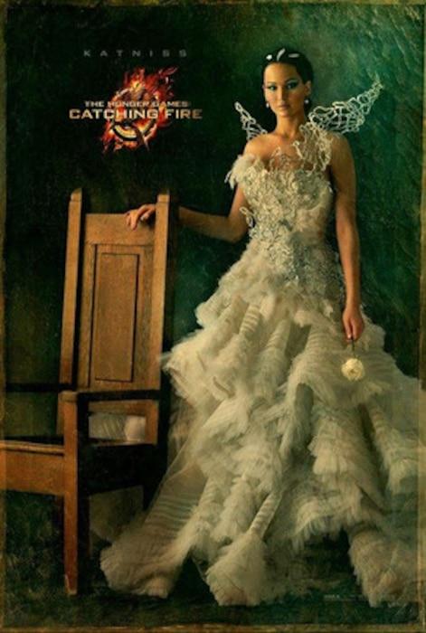 Hunger Games Poster, Katniss