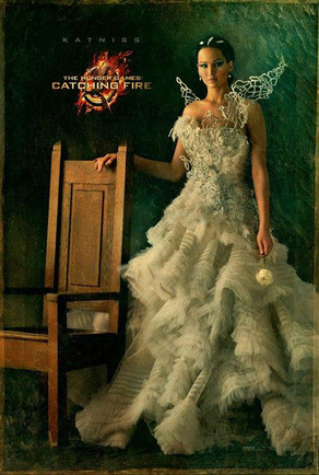 Hunger Games Poster, Katniss
