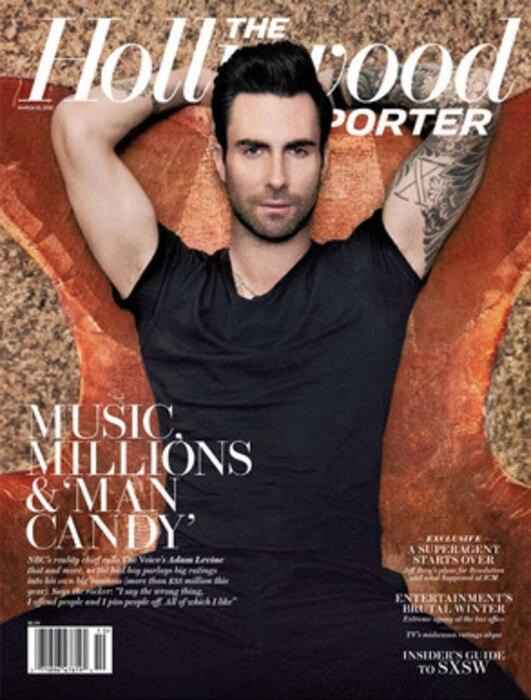 Adam Levine, The Hollywood Reporter