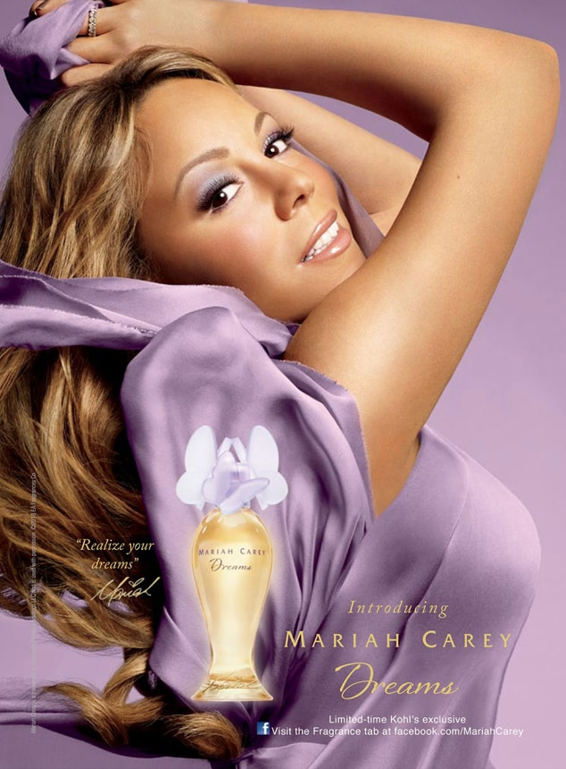 Mariah carey mariah carey dreams from celebrity for Mariah carey perfume