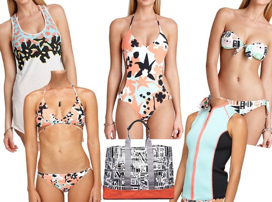 DVF for Roxy Swimwear