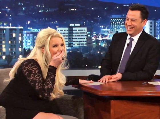 Jessica Simpson, Jimmy Kimmel Live
