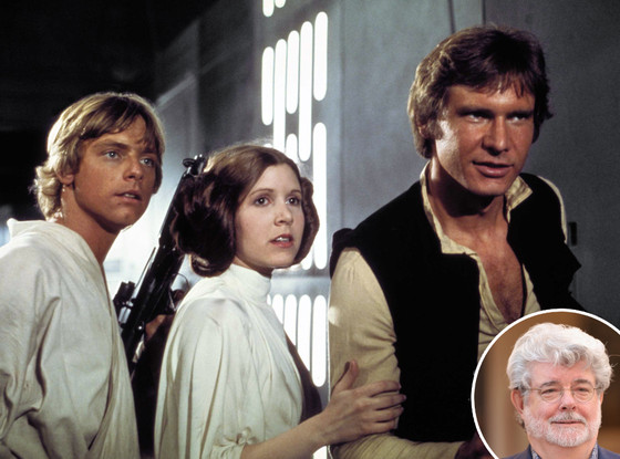 Luke Skywalker, Princess Leia, Han Solo, Star Wars, George Lucas