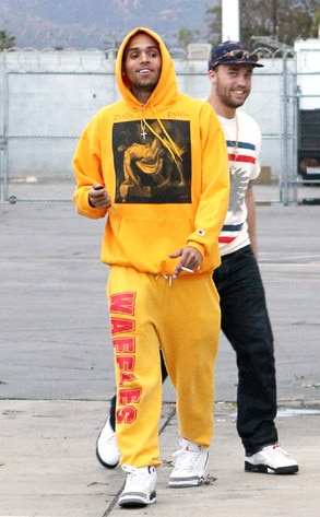 Chris Brown, Smoking, Yellow