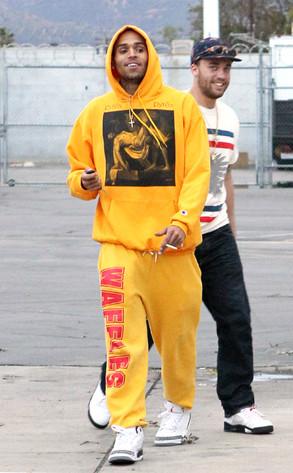 Chris Brown, Smoking, Yellow