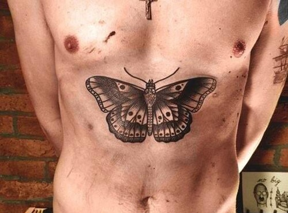 Harry Styles, Butterfly Tattoo