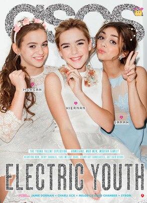 ASOS Magazine, Morgan Saylor, Kiernan Shipka, Sarah Hyland