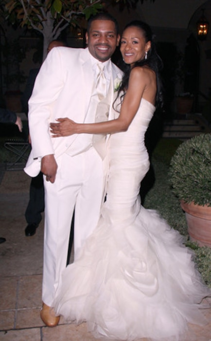 Mekhi Phifer, Reshelet Barnes, Wedding