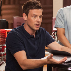Cory Monteith, Kevin McHale, Harry Shum Jr., Amber Riley, Glee