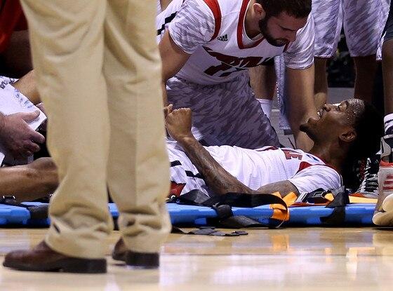Kevin Ware, Broken Leg