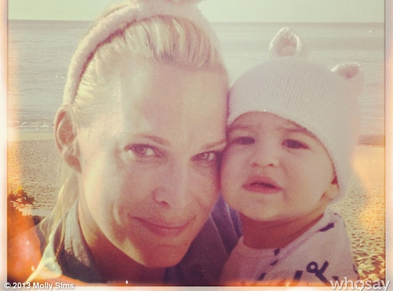 Molly Sims, WhoSay