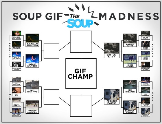 Soup Gif Madness Updated bracket 4-1