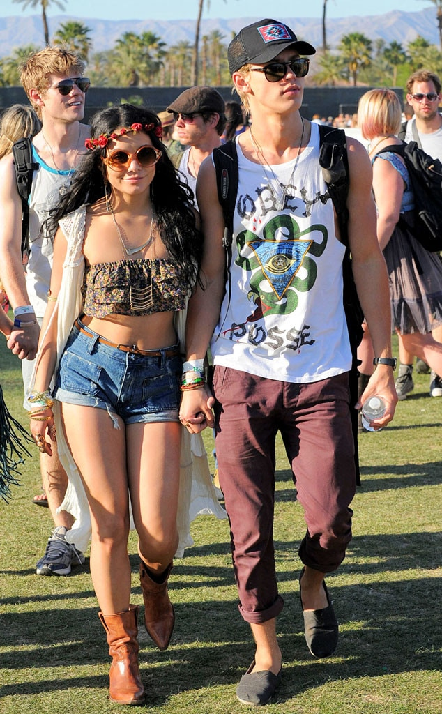 Vanessa Hudgens from Coachella Fashion: The Best Celebrity ...