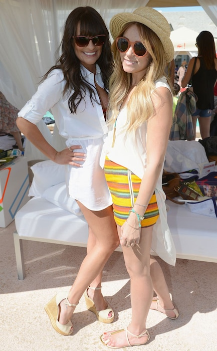 Coachella Festival, Lea Michele, Lauren Conrad