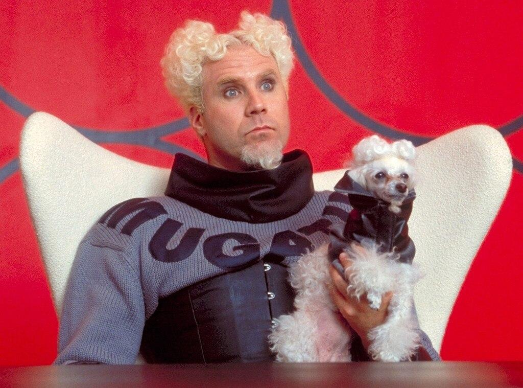 Will Ferrell, Zoolander, Crazy OnScreen Hairdos