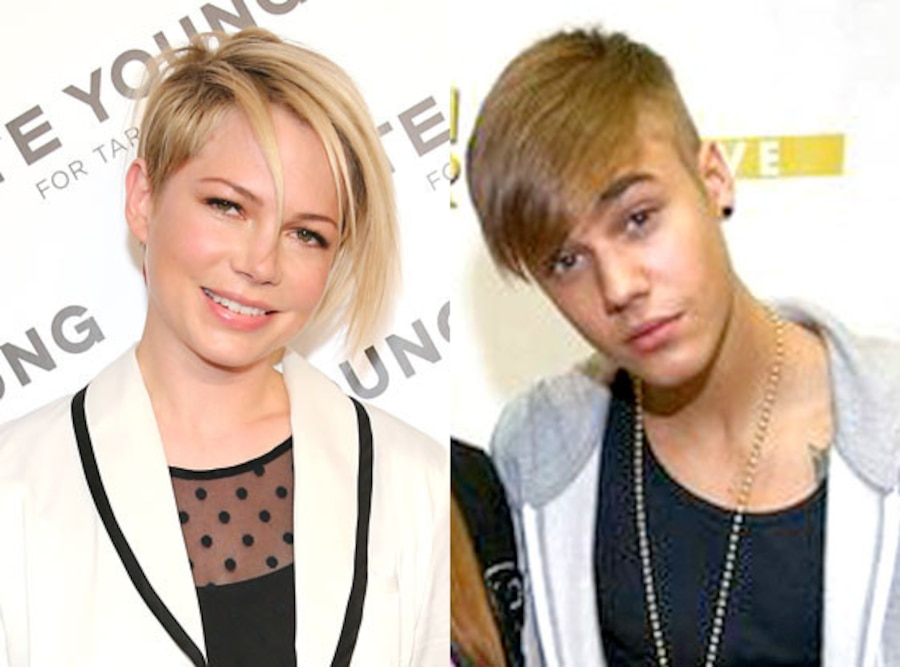 Michelle Williams, Justin Bieber