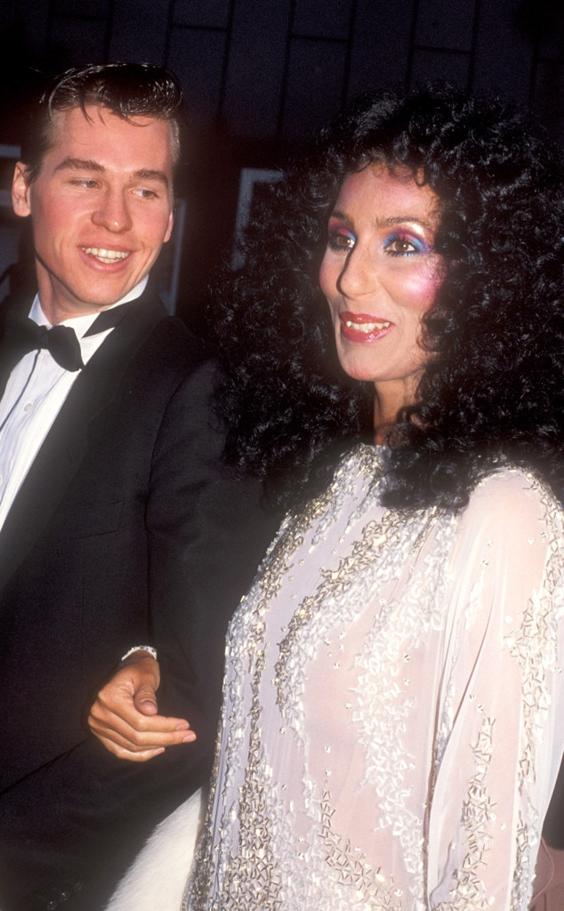 Val KIlmer, Cher, Odd Couple