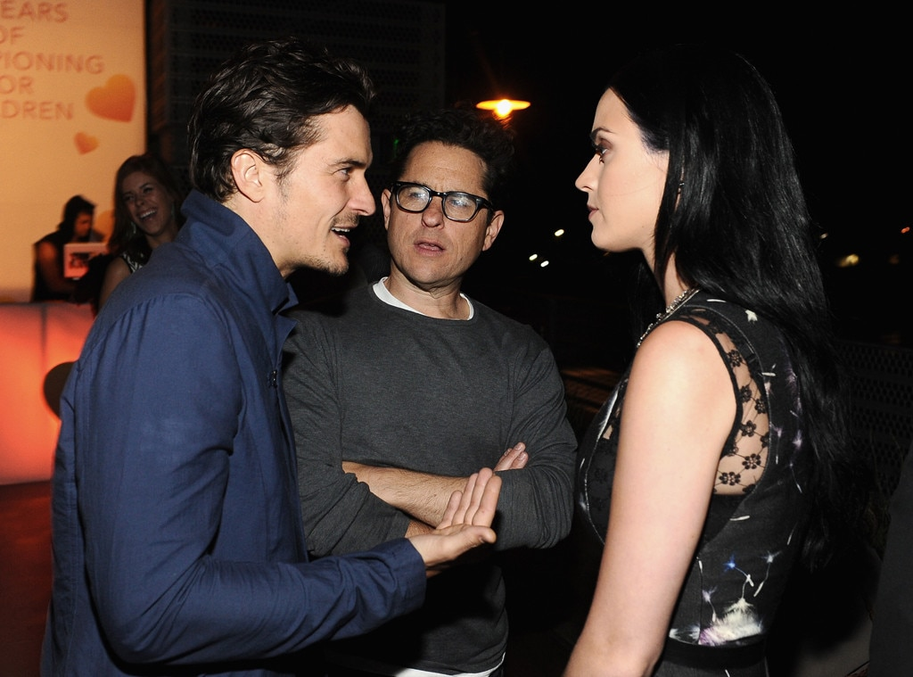 Orlando Bloom, JJ Abrams, Katy Perry, Coach