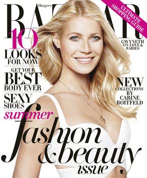 Gwyneth Paltrow, BAZAAR May Cover