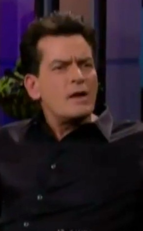Charlie Sheen, Tonight SHow