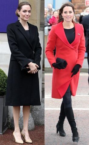 Angelina Jolie, Kate Middleton