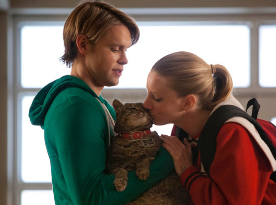 Chord Overstreet, Heather Morris, Glee