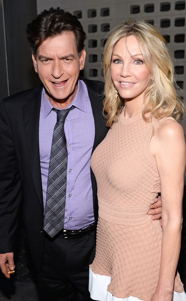 Charlie Sheen, Heather Locklear, Scary Movie 5