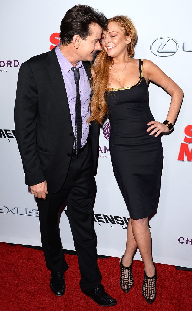 Charlie Sheen, Lindsay Lohan, Scary Movie 5
