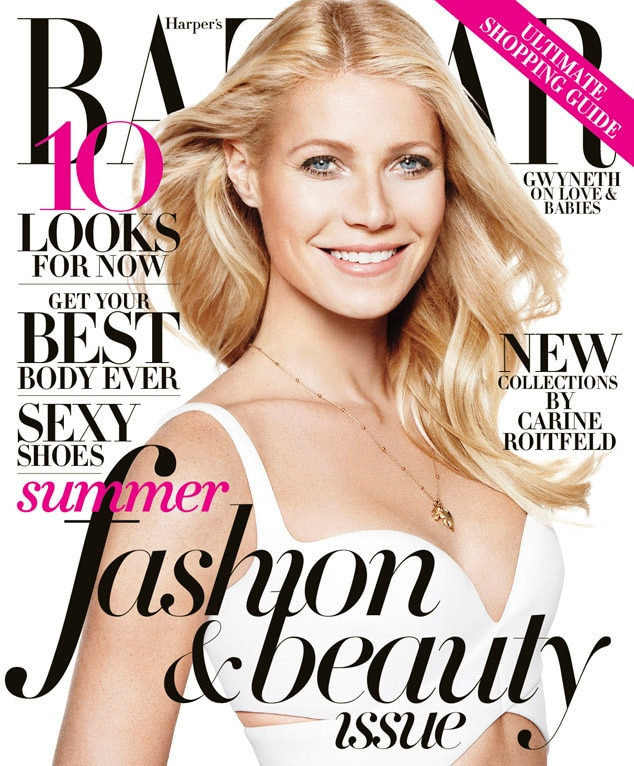 Gwyneth Paltrow, BAZAAR May Cover