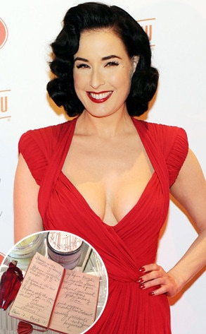 Dita Von Teese, Journal