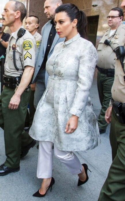 Kim Kardashian, Court