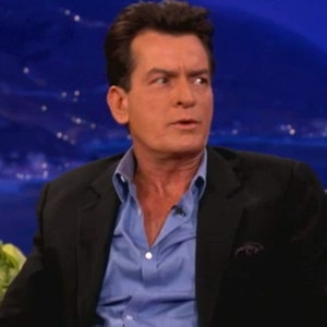 Charlie Sheen, Conan O'Brien