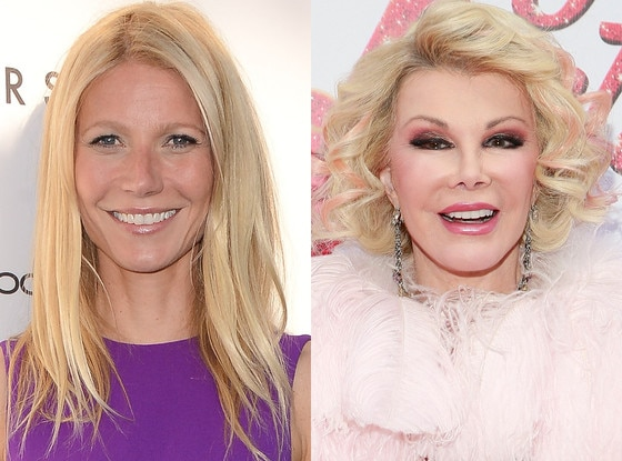 Gwyneth Paltrow, Joan Rivers