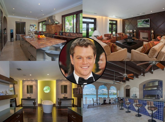 Matt Damon, Miami Beach home