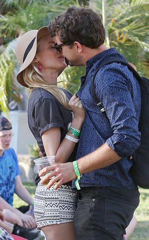 Diane Kruger, Joshua Jackson, Coachella 2013