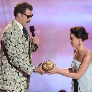 MTV Movie Awards Show, Will Ferrell, Aubrey Plaza