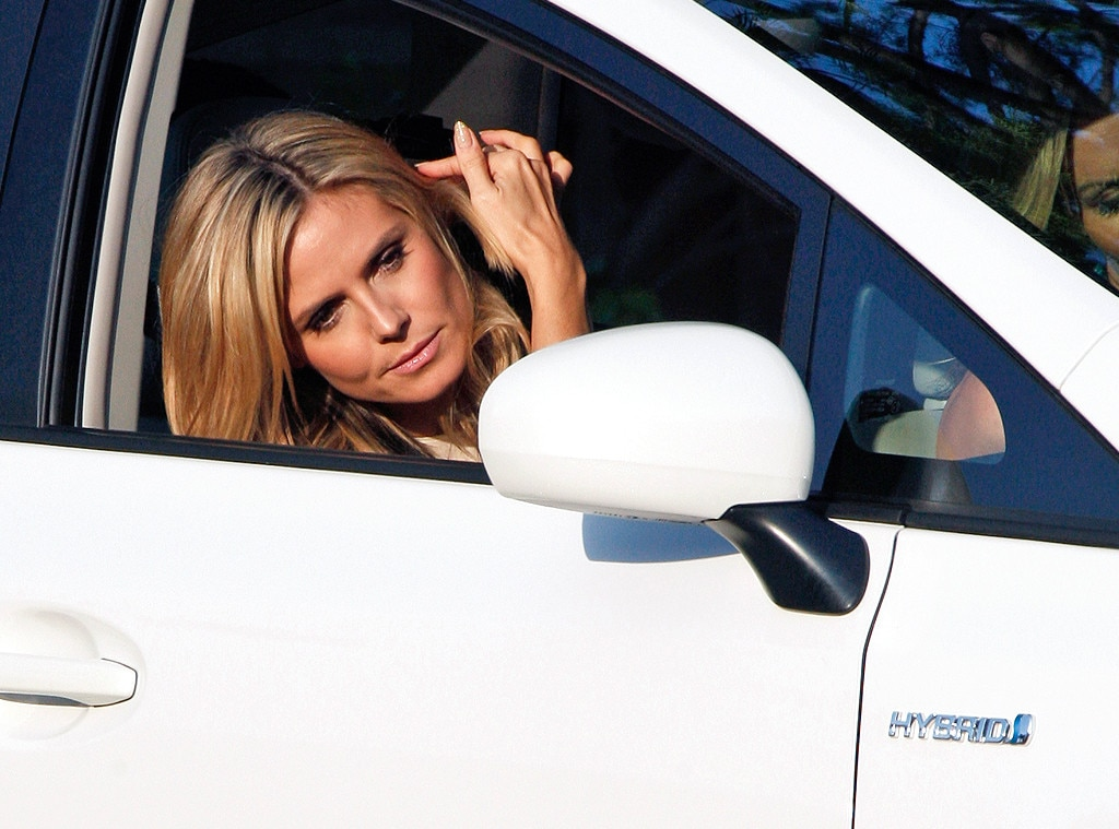 Heidi Klum from Hybrid Hollywood: Stars in Eco-Friendly ...