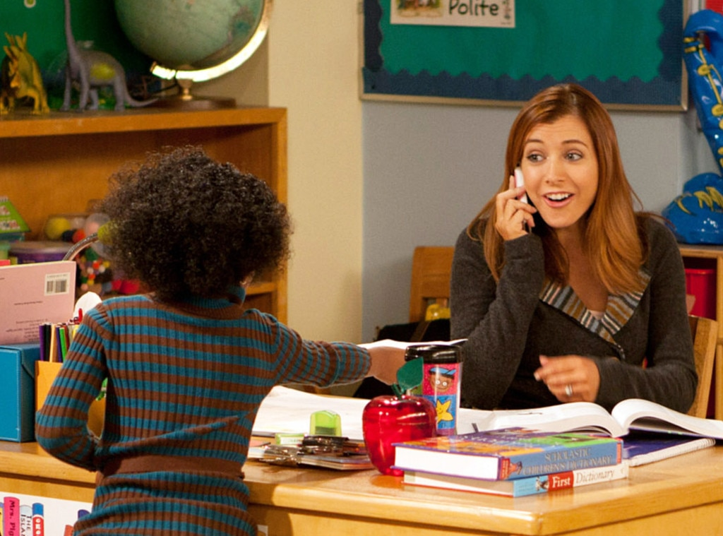 Alyson Hannigan, How I Met Your Mother, Onscreen Teachers