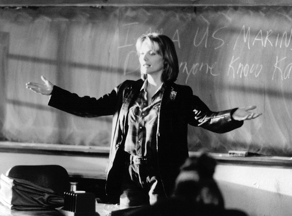 Michelle Pfeiffer, Dangerous Minds, Onscreen Teacher