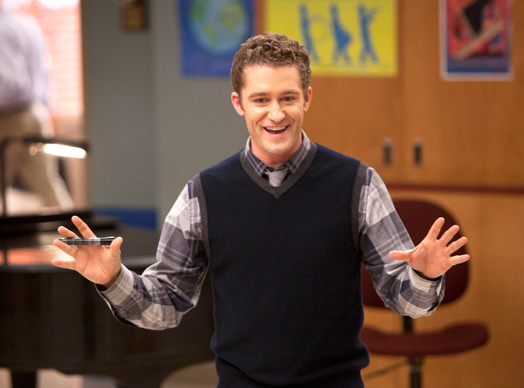 Glee, Matthew Morrison, Onscreen Teacher