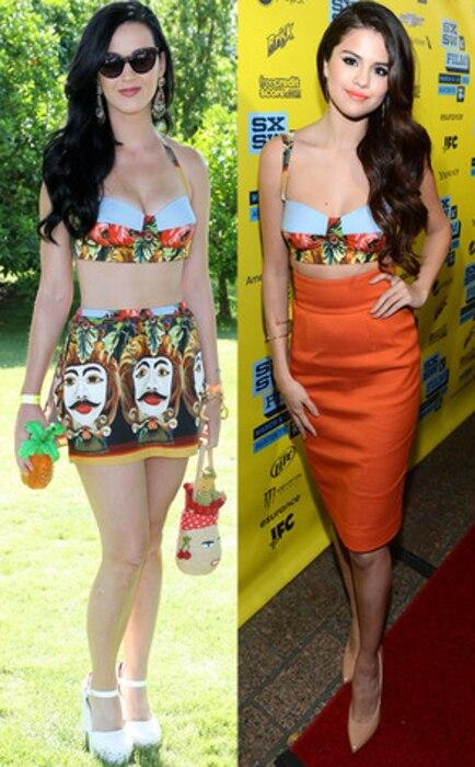 Katy Perry, Selena Gomez, Bitch Stole My Look