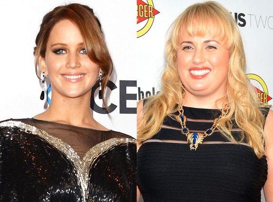 Jennifer Lawrence, Rebel Wilson