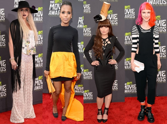 Worst Dressed Split, MTV Movie Awards