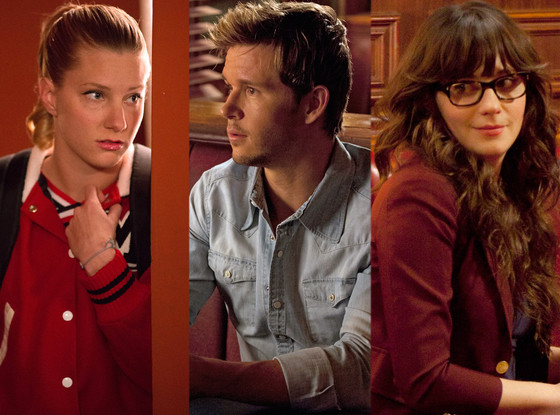Heather Morris, Glee, Ryan Kwanten, True Blood, Zooey Deschanel, New Girl
